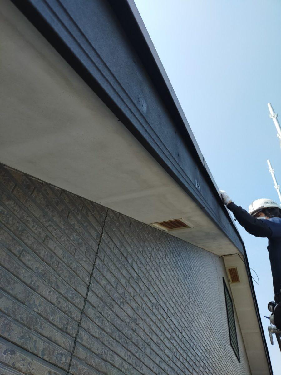 破風板工事