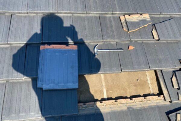 屋根差し換え