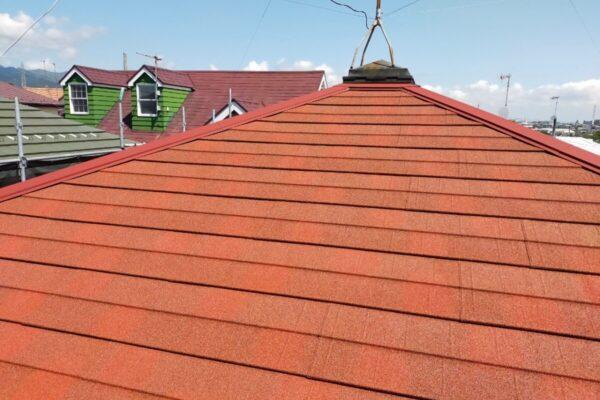 伊勢原市 ディーズルーフィング 屋根カバー:厚木市の外壁塗装・屋根塗装専門店の亜久里工業
