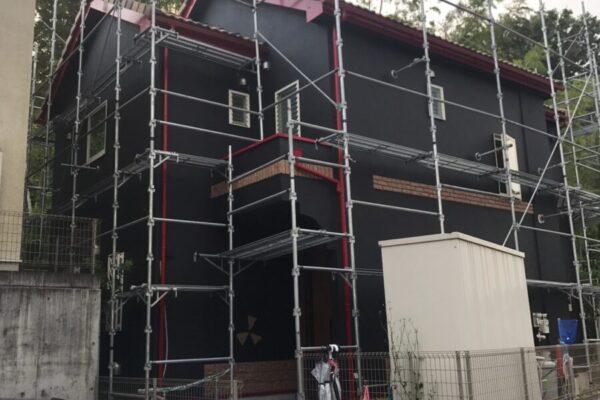 町田市外壁塗装工事3:厚木市の外壁塗装・屋根塗装専門店の亜久里工業