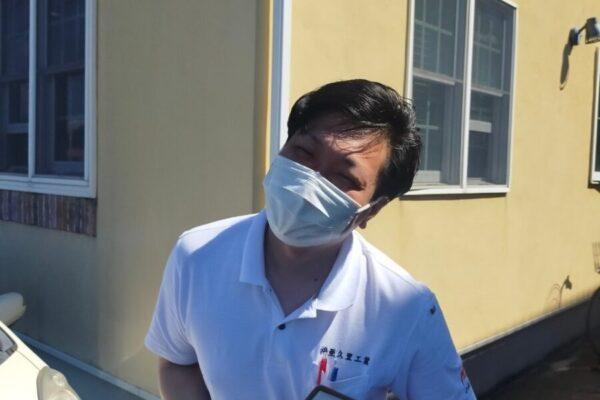 新入社員小此木・厚木市の外壁塗装・屋根塗装専門店の亜久里工業